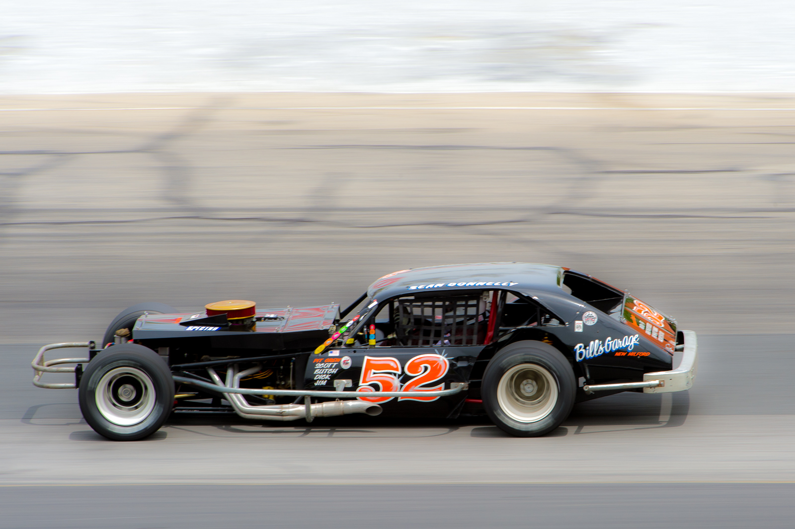 Cars From Throughout New Englands Racing Past To Be Showcased At Thompson Speedways Historic Oval Invitational on dirt track stock car racing